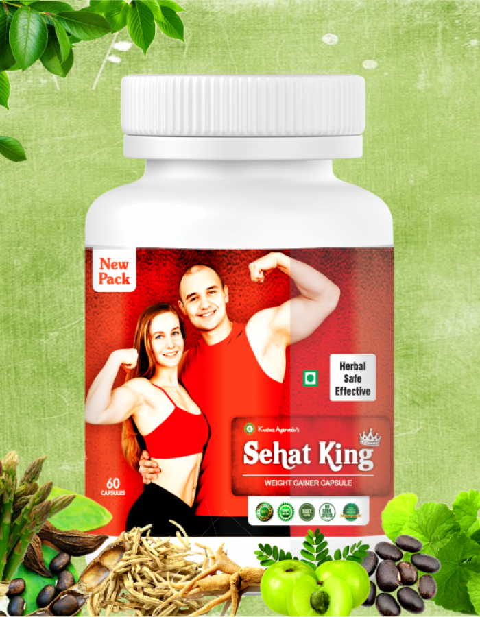 Sehat king Weight Gain Capsules